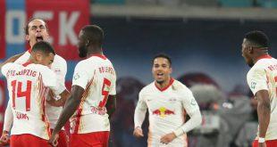 RB Leipzig dreht das Spitzenspiel und gewinnt 3:2