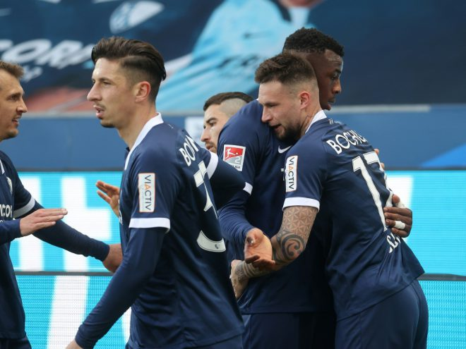 Der VfL Bochum bezwingt Schlusslicht Würzburg 3:0