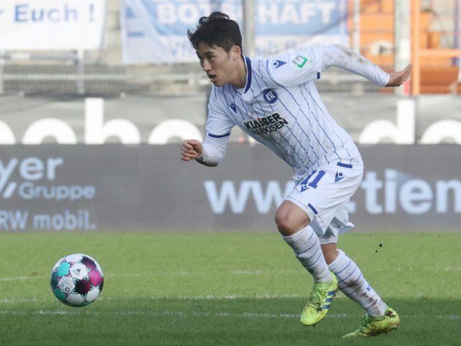 Choi erzielte Ausgleich in Sandhausen