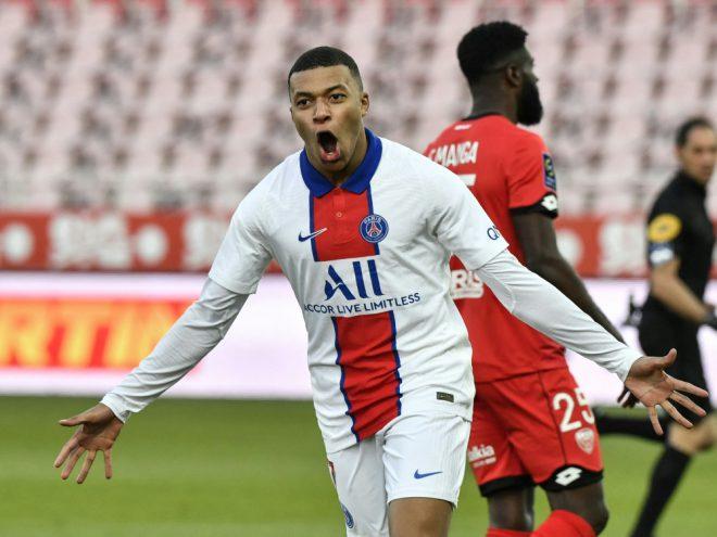 Kylian Mbappe trifft gegen Schlusslicht Dijon doppelt
