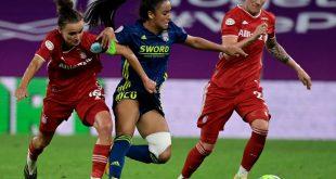 Lina Magull (l.) fällt verletzungsbedingt aus