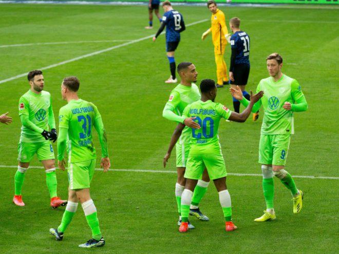 Wolfsburg bleibt ohne Gegentor und gewinnt 2:0