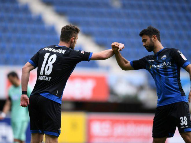 Srbeny erzielt Last-Minute-Ausgleich für Paderborn