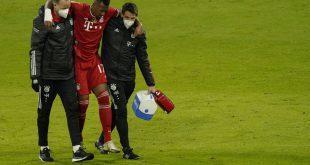 Jerome Boateng hat nur eine leichte Verletzung erlitten