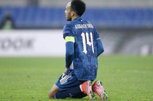 Nur ein Unentschieden für Aubameyang und Arsenal