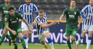 Hertha sichert sich gegen Augsburg einen knappen Sieg