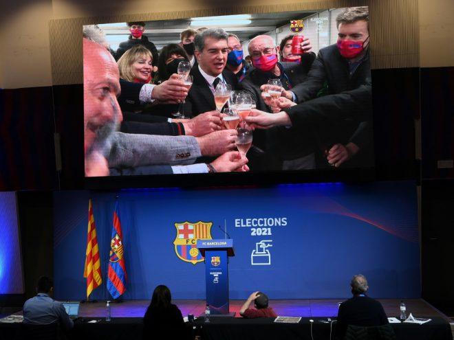 Neuer Barca-Präsident: Joan Laporta