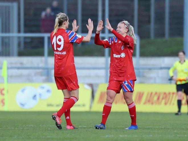 Die Münchener Damen rücken immer weiter Richtung Titel