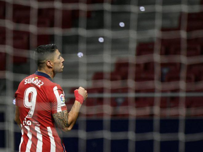 Luis Suarez bringt Atletico den Sieg