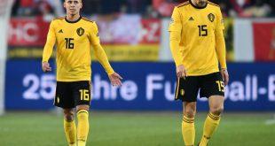 Hazard (l.) und Meunier reisen nicht mit nach Tschechien