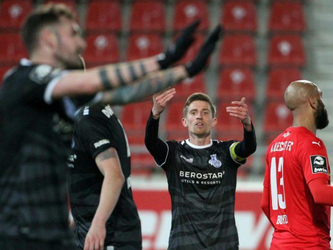 Halle und Duisburg spielen Unentschieden 1:1