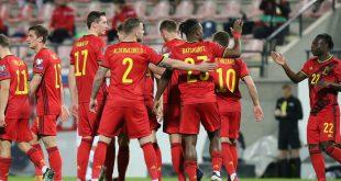 Belgiens Fußballer setzen Zeichen für Menschenrechte