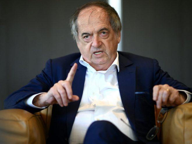 Le Graet ist seit 2011 FFF-Präsident