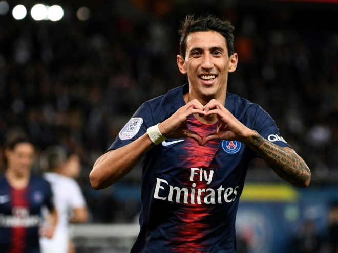 Angel Di Maria bleibt Paris St. Germain treu