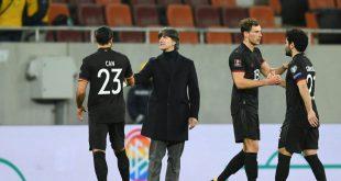 Die deutsche Nationalmannschaft testet gegen Dänemark