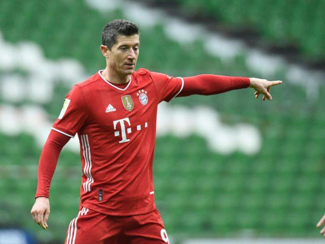 Lewandowski jagt Gerd Müllers Rekord