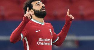 Salah brachte Liverpool mit dem 1:0 auf die Siegerstraße