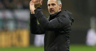 Scheidender Eintracht-Trainer Hütter steht in der Kritik
