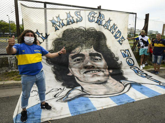 Maradona wird in Argentinien verehrt
