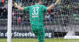 Unentschieden zwischen Köln und Unterhaching