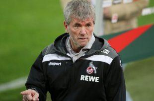 Funkel ist derzeit Trainer des 1. FC Köln