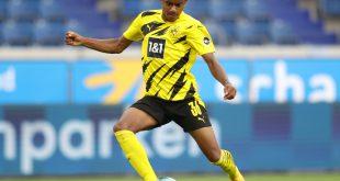 Dortmunds Ansgar Knauff steht in der Startelf