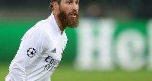 Sergio Ramos wurde positiv auf das Coronavirus getestet