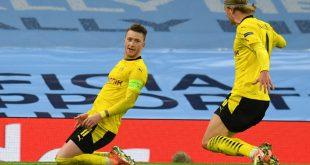 Marco Reus erzielt das wichtige Auswärtstor für den BVB