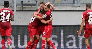 Kickers senden Lebenszeichen: Sieg in Hannover