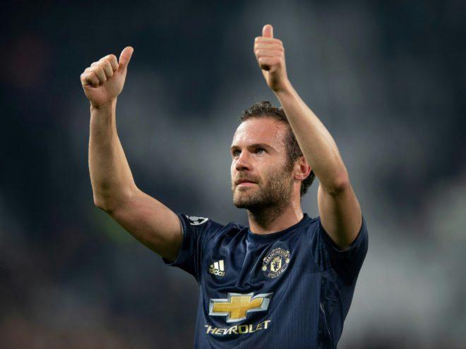 Juan Mata zieht mit Manchester United ins Halbfinale ein