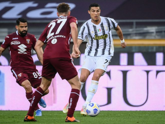 Stadtderby: Ronaldo bewahrt Juve vor Pleite
