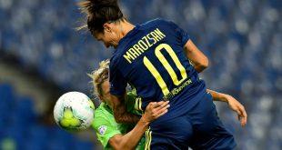 Dzsenifer Marozsan verliert mit Olympique Lyon in der CL