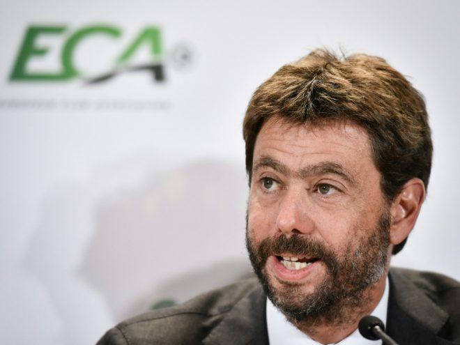ECA und Präsident Agnelli erhalten Protestschreiben