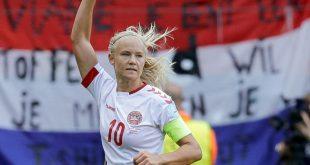 Pernille Harder erzielt ihren 65. Länderspieltreffer
