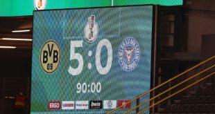 Dortmund spaziert ins DFB-Pokal-Finale