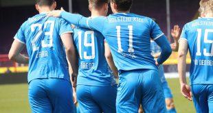 Holstein Kiel jubelt auch gegen Sandhausen