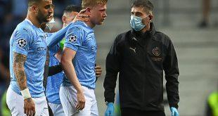 Kevin De Bruyne musste verletzt ausgewechselt werden