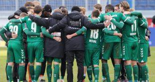 Der VfB Lübeck mit Hoffnung im Abstiegskampf