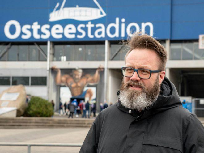 Bürgermeister Madsen denkt schon an die Aufstiegsfeier