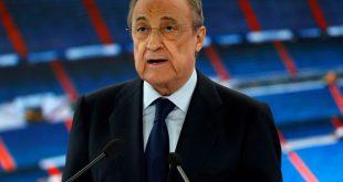 Real Madrid mit Florentino Perez verteidigt sich