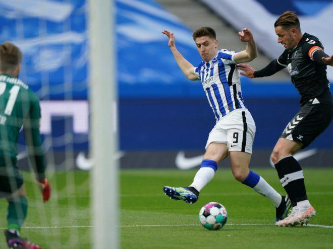 Krzysztof Piatek erzielte gegen Freiburg das 1:0