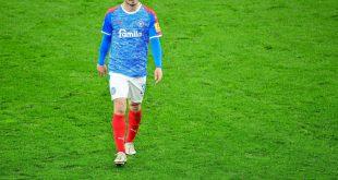 Fin Bartels nach dem Pokal-Aus gegen Borussia Dortmund