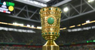Der DFB-Pokal ist in Berlin angekommen