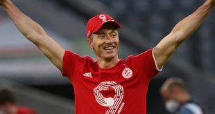 Bayern Münchens Torjäger Robert Lewandowski