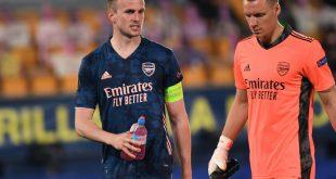 Leno (r.) tief enttäuscht nach Halbfinal-Aus mit Arsenal