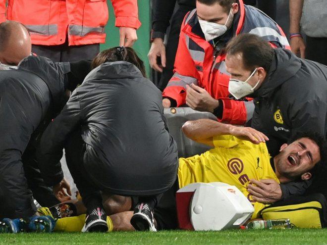 Wohl schwer verletzt: Mateu Morey