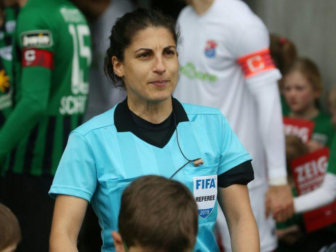 Riem Hussein leitet Champions-League-Finale der Frauen