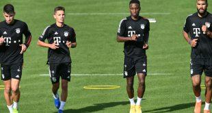 Die Bayern befinden sich im Quarantäne-Trainingslager