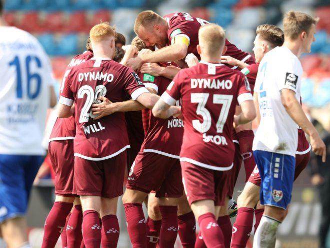 3. Liga: Dynamo Dresden ist zurück an der Tabellenspitze