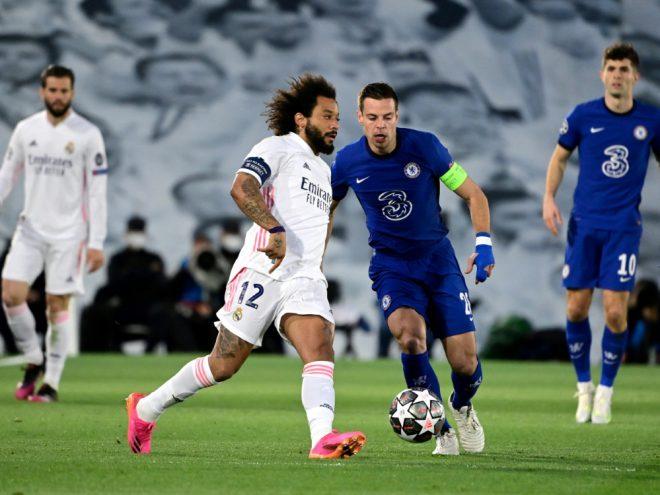 Marcelo im Rückspiel gegen Chelsea dabei
